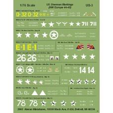 US Shermans markings (NW Europe)