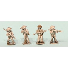 Viet Cong in straw hats with RPGs (4 Figures)