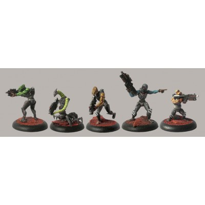 Federation Shock Troopers Squad A (5 Figures)
