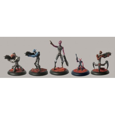 Federation Shock Troopers Squad B (5 Figures)