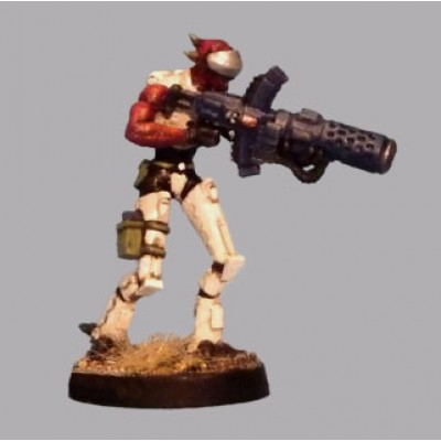 Alien Shocktrooper with heavy weapon (1 Figure)