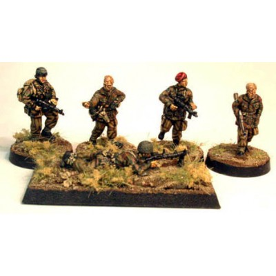 WWII British paratrooper infantry 2 (5 Figures)