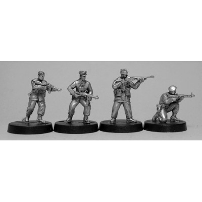 British commando raiders II (4 Figures)