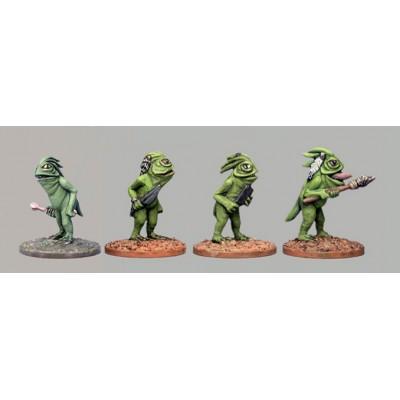 Phibian Group I (4 Figures)