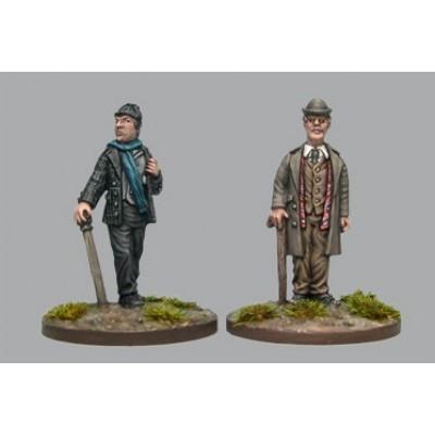 Holmes & Watson (2 Figures)