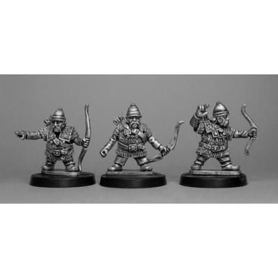 Celtic Dwarf Armored Archers (3 Figures)
