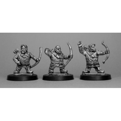 Celtic Dwarf Archers (3 Figures)