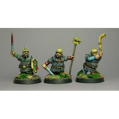 Celtic Dwarf Command II (3 Figures)