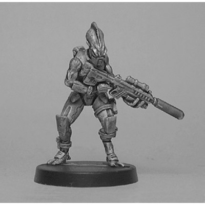 Alien trooper advancing (1 Figure)
