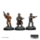Mobsters with machine guns (3 Figures)