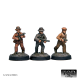 Mobsters advancing (3 Figures)