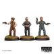 Mobsters with hand guns (3 Figures)