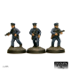 US Cops With Mixed Weapons (3 Figures)