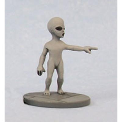Grey Alien, pointing (1 Figure)