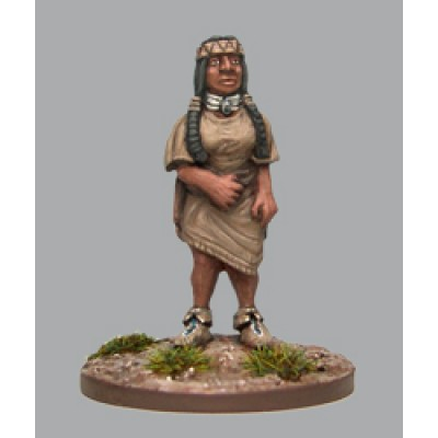 Plains indian girl (1 Figure)